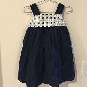 Luli & Me Other - NWT Woven dress with eyelet lace. Size 18 months
