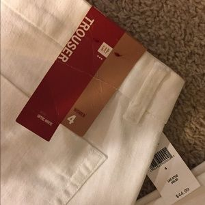 NWT Gap Factory white trouser jeans