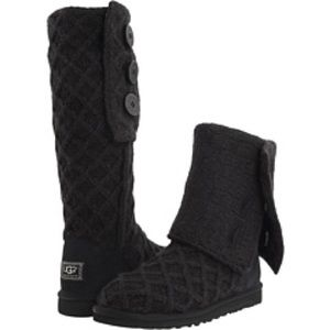 Ugg cardy lattice boots