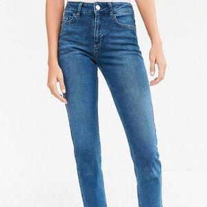 BDG high rise girlfriend jeans