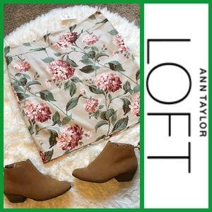 Ann Taylor LOFT Dresses & Skirts - NWT! Ann Taylor LOFT Floral Career Pencil Skirt 16