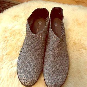 bernie mev. Shoes - Bernie Mev Woven Booties