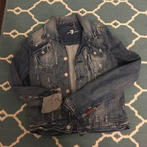Brand-new 7 For All Mankind jean jacket