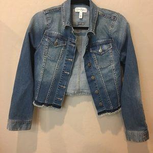 Jessica Simpson Jackets & Blazers - Jessica Simpson Maternity Denim Jacket