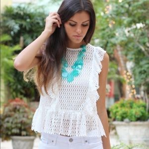After Market Tops - NWT After Market woven sleeveless top blouse