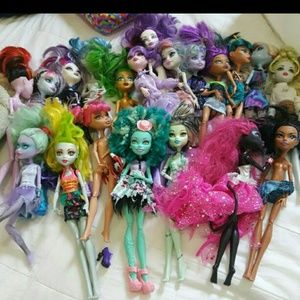 monster high Other - 20 monster high.