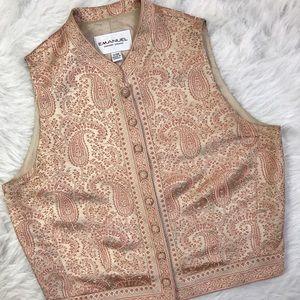 Emanuel Ungaro Jackets & Blazers - Emanuel Ungaro Silk Paisley Vest