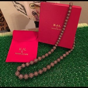 Kenneth Jay Lane Jewelry - Kenneth Jay Lane Bronze Necklace