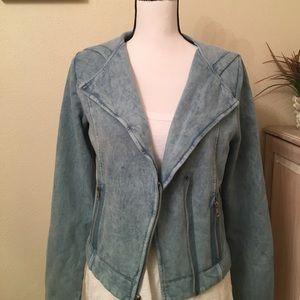 Copper Key Jackets & Blazers - Blue Moto jacket