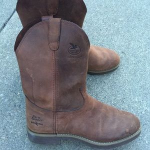 Georgia Boot Other - Men's Georgia Brown Leather Boots  Size 10 EE