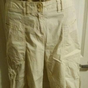 INC International Concepts Pants - Versatile INC Tan Capris