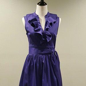 Eliza J Dresses & Skirts - Eliza J Ruffle Front Dress