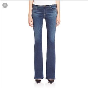 """AG Adriano Goldschmied Denim - AG Jeans, """"The Angel"""" Bootcut, light wash."""