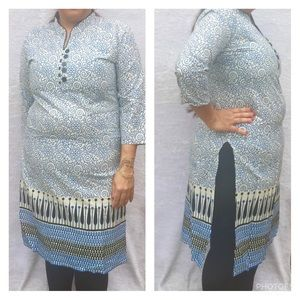 Tops - Long sleeves cotton tunic top