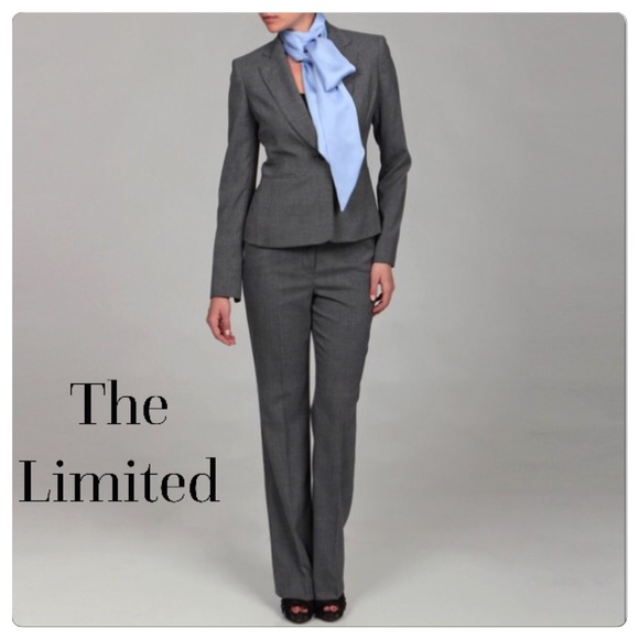 Up for sale is a pants suit from The Limited in excellent condition. The jacket is size 6, pants are size 10 petite (Drew fit).