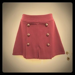 Urban Outfitters Cope Berry Mini Skirt, Size 6