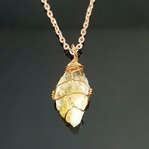 DGwiring Jewelry - CITRINE relieves fear and anxities
