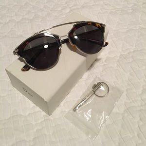 DIOR So Real Tortoise Sunglasses