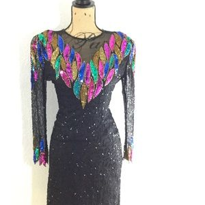 Vintage Multi-Colored Sequin Dress