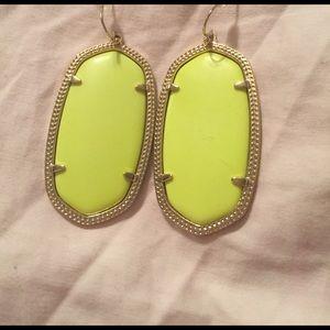 Kendra Scott Jewelry - Neon yellow Danielle's