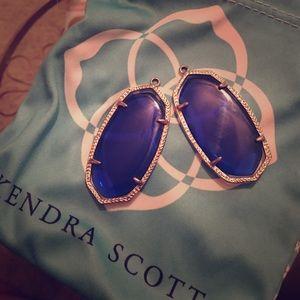 Kendra Scott Jewelry - Kendra Scott Royal Blue Danielle Earrings W/O Hook