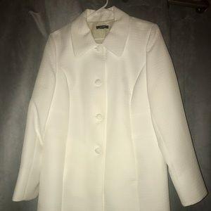 Alfani Jackets & Blazers - Alfani long white coat.