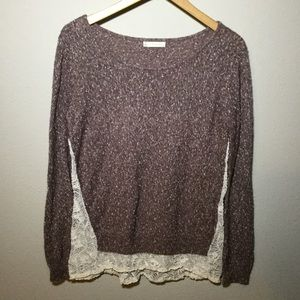 Hinge Sweaters - Nordstrom Hinge lace back sweater