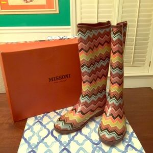 Brand NEW Missoni for Target boots