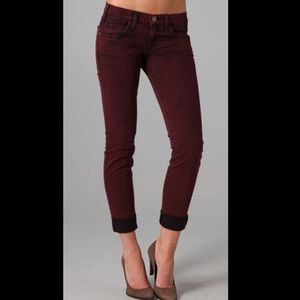 Current/Elliott The Rolled Skinny Jeans Sz 27
