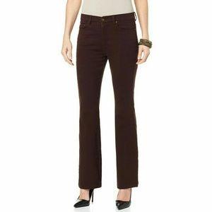 Diane Gilman Pants - NEW Diane Gilman Bootcut Pants Size 6P
