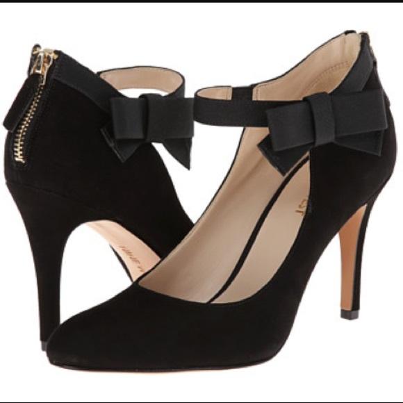 2a9dc3181cb Nine West bow heels. M 58abbd39f0137d99c303aeaf