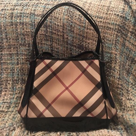 9c0690688e Burberry Bags | Authentic Small Nova Check Tote Bag | Poshmark