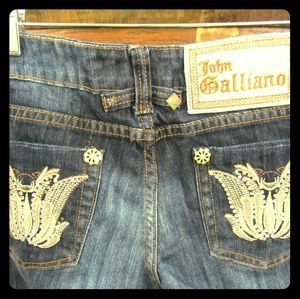 John Galliano Denim - Designer Jeans