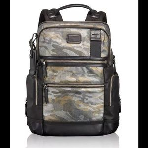 Tumi Other - Tumi Alpha Bravo Knox Backpack ‑ Metallic Camo NWT