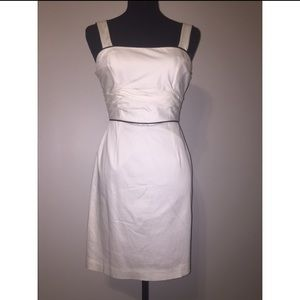 White House Black Market Sheath White Dress
