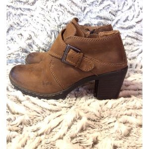b.o.c. Shoes - Boc leather buckle booties