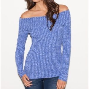 G by Guess Tops - 2 Lavandula fold over sweaters