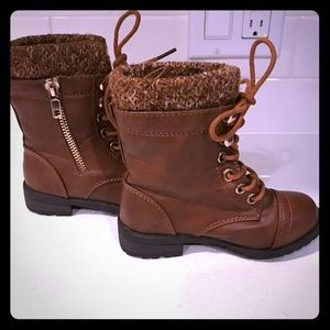 Link Other - Link brown lace up boots sz 7 toddler