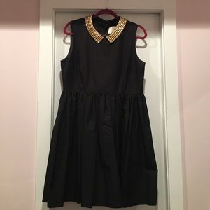 kate spade Dresses & Skirts - Kate Spade Laurence Dress with Gold Beaded Collar