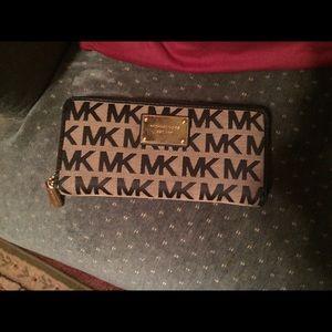Michael Kors Handbags - Authentic MK full size zip around full size wallet