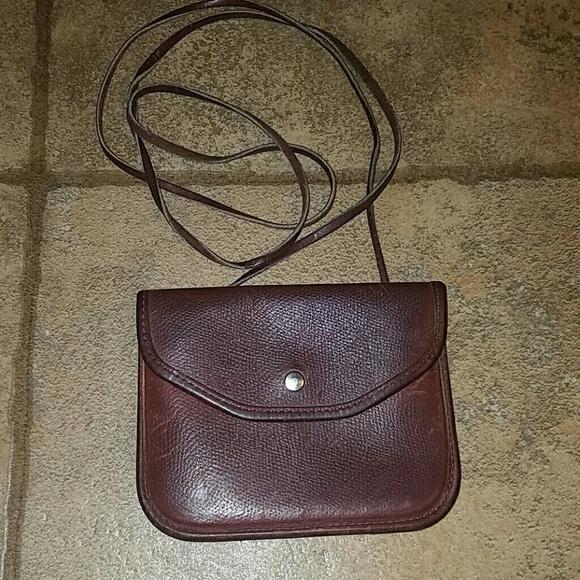 85% off Michael Green Handbags - Michael Green brown leather ...