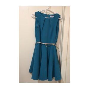 Closet Dresses & Skirts - Modcloth Closet Teal A-Line Dress