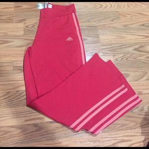Adidas Other - Dark and light pink adidas yoga track pants