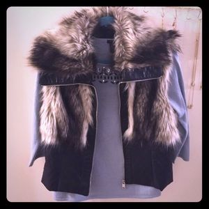 Ciso Jackets & Blazers - Fur and Vegan Leather Vest