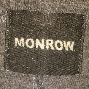 Monrow Tops - Monrow Animal Print Sweatshirt w/FREE scarf!