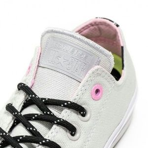 Converse Shoes - Converse Chuck Taylor II Shield Low Top Gray Pink
