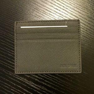 Jack Spade Handbags - NWT Jack Spade grey credit card holder