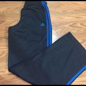 Adidas Pants - ADIDAS THERMAL BASKETBALL TRACK PANTS