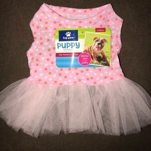 Top Paw Other - Top Paw NWT X-Small Orange/Pink Dots Tutu Dress