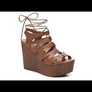 Steve Madden Shoes - Brown Wedges